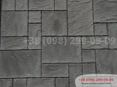 Тротуарная плитка Пассион Черныйфото 4