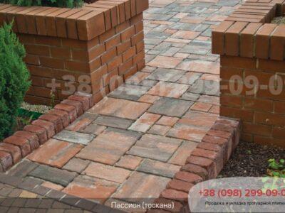 Тротуарная плитка Пассион Тосканафото 3