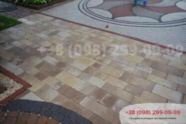 Тротуарная плитка колор-миксфото 50