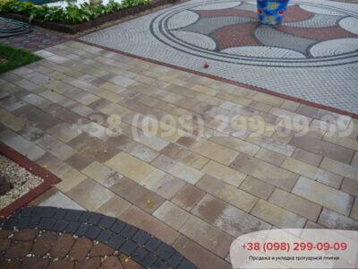 Тротуарная плитка Паттерн Каприанофото 1