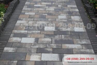 Тротуарная плитка колор-миксфото 25