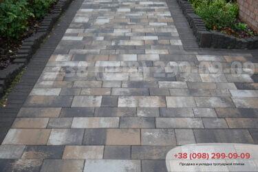 Тротуарная плитка колор-миксфото 24