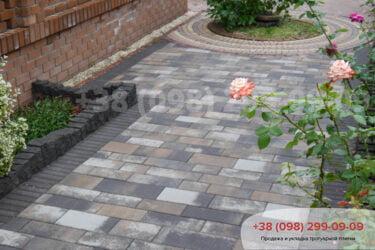 Тротуарная плитка колор-миксфото 17