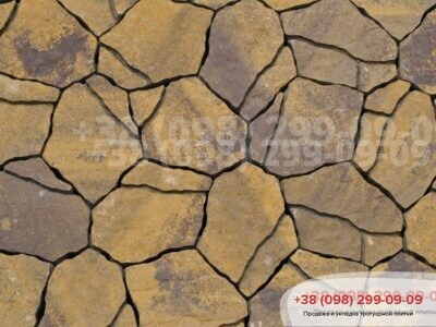 Тротуарная плитка Песчаник Генуяфото 6