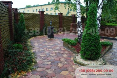 Тротуарная плитка колор-миксфото 254