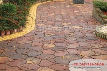 Тротуарная плитка колор-миксфото 255
