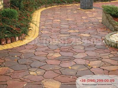 Тротуарная плитка Песчаник Моденафото 7