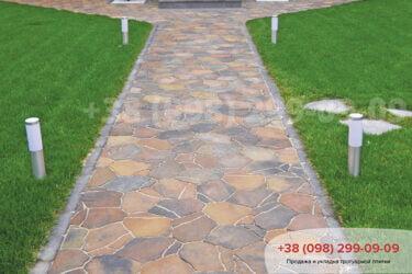 Тротуарная плитка колор-миксфото 250
