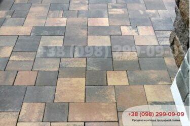 Тротуарная плитка колор-миксфото 285