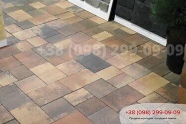 Тротуарная плитка колор-миксфото 284