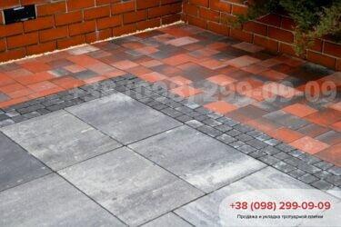 Тротуарная плитка колор-миксфото 269