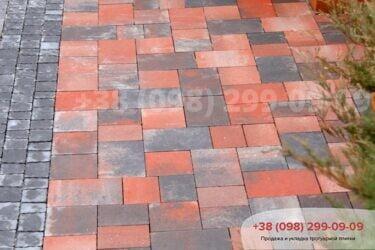 Тротуарная плитка колор-миксфото 268