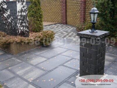 Тротуарная плитка Плита 900х450 Грейсфото 2
