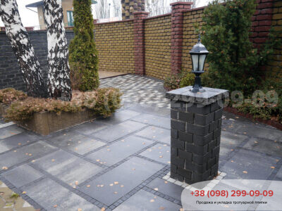 Тротуарная плитка Плита 900х450 Грейсфото 3