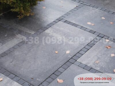 Тротуарная плитка Плита 900х450 Грейсфото 4