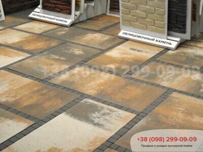 Тротуарная плитка Плита 900х450 Тосканафото 2