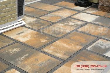 Тротуарная плитка колор-миксфото 291