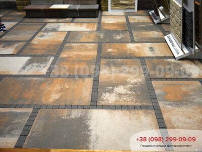 Тротуарная плитка Плита 900х450 Тосканафото 4