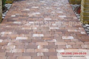 Тротуарная плитка колор-миксфото 322