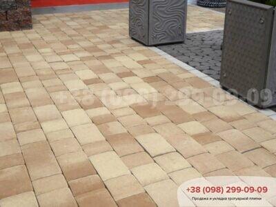 Тротуарная плитка Старая площадь Кремафото 3