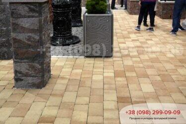 Тротуарная плитка колор-миксфото 307