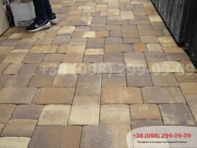 Тротуарная плитка Старая площадь Пастенафото 3