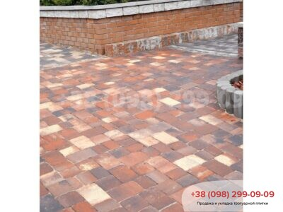 Тротуарная плитка Старая площадь Реджиофото 2