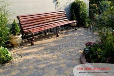 Тротуарная плитка колор-миксфото 346