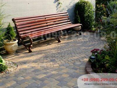 Тротуарная плитка Старый Город Генуяфото 1