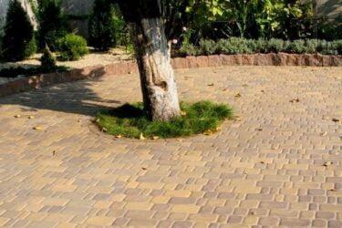 Тротуарная плитка колор-миксфото 342