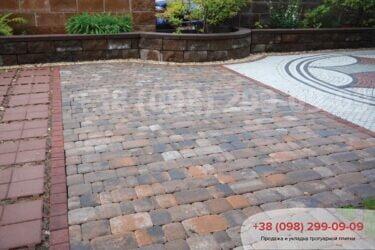 Тротуарная плитка колор-миксфото 351
