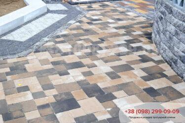 Тротуарная плитка колор-миксфото 101
