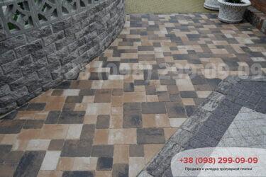 Тротуарная плитка колор-миксфото 95