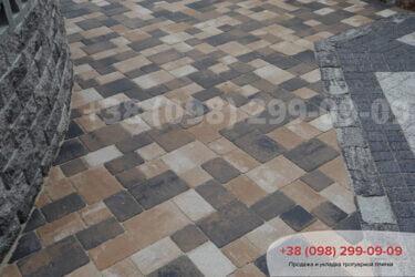 Тротуарная плитка колор-миксфото 98