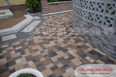 Тротуарная плитка колор-миксфото 97