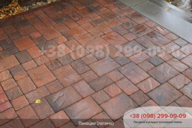 Тротуарная плитка колор-миксфото 80