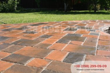Тротуарная плитка колор-миксфото 79