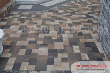 Тротуарная плитка колор-миксфото 109