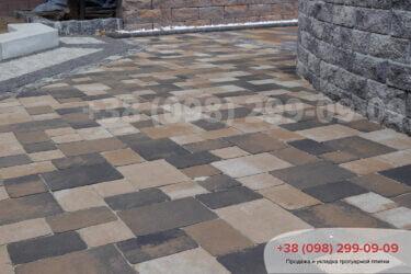 Тротуарная плитка колор-миксфото 108