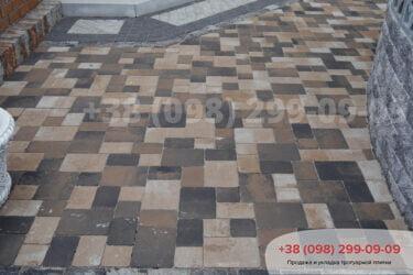 Тротуарная плитка колор-миксфото 104