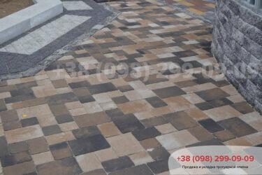 Тротуарная плитка колор-миксфото 105