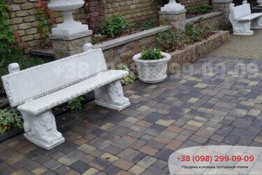 Тротуарная плитка колор-миксфото 85
