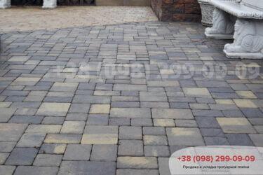 Тротуарная плитка колор-миксфото 92