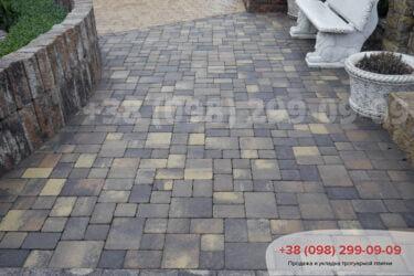 Тротуарная плитка колор-миксфото 91