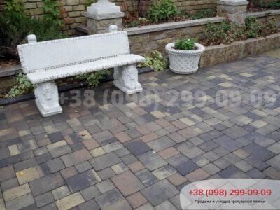 Тротуарная плитка Венеция Росанофото 9