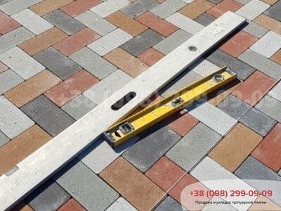 Тротуарная плитка Кирпич без фаски Белаяфото 11