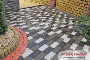Тротуарная плитка Киев Золотой Мандарин 🥇 Тротуарная плитка «Кирпич без фаски»