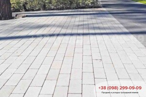 Белый Тротуарная плитка Кирпич без фаски Белая