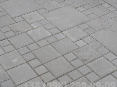 Тротуарная плитка Плита 400х400 сераяфото 2