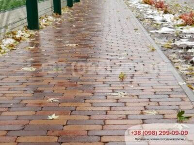 Тротуарная плитка Кирпич Барселона Антик Персиковаяфото 2
